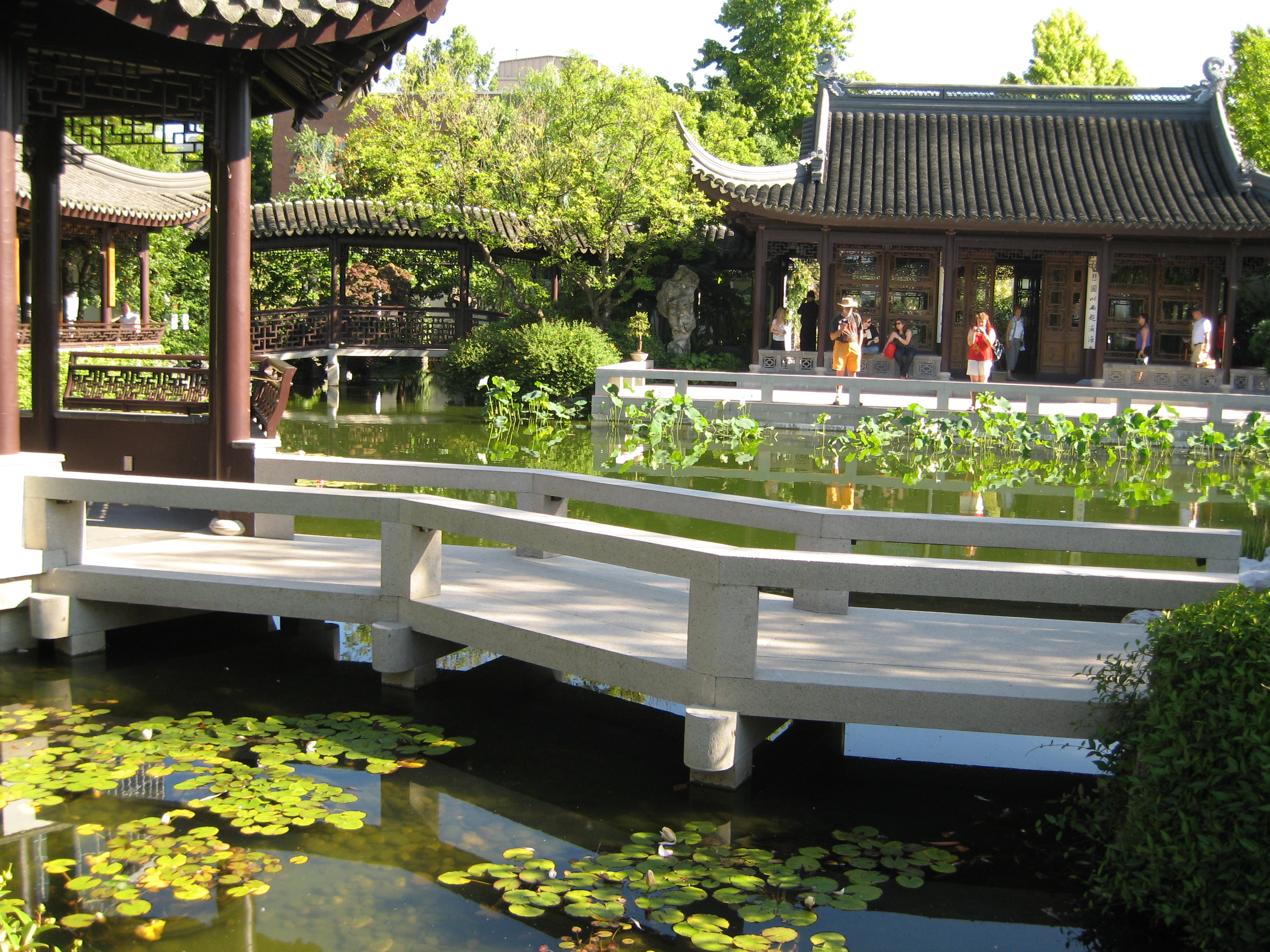 Classical Chinese garden in Portland
